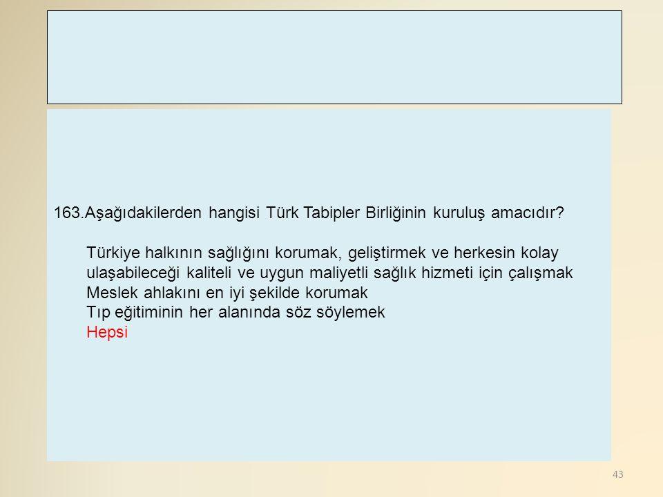 44 164.Türkiye tarafından, ILO'nun hangi sayılı sözleşmelerini imzalanmıştır.