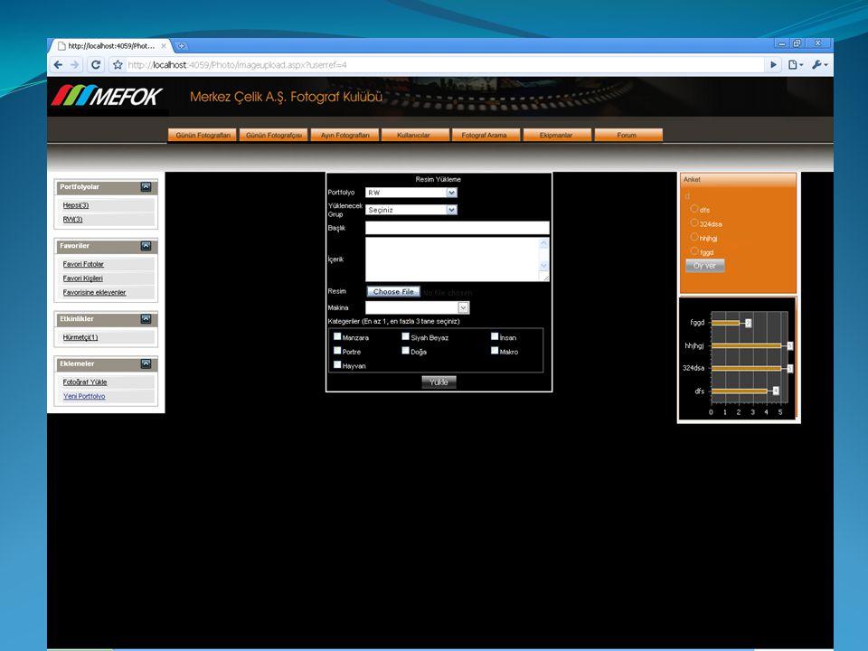 • Planlama Sarf takibi ve ihtiyaç planlama yazılımı • Scada ve Otomasyon sistemleri üzerinde geliştirilecek analiz yazılımları • Mobil Uygulamalar Ferhat Çetin Akçalı Projeler