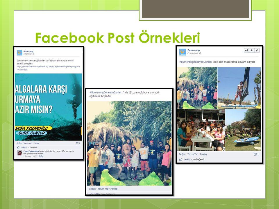 Facebook Post Örnekleri