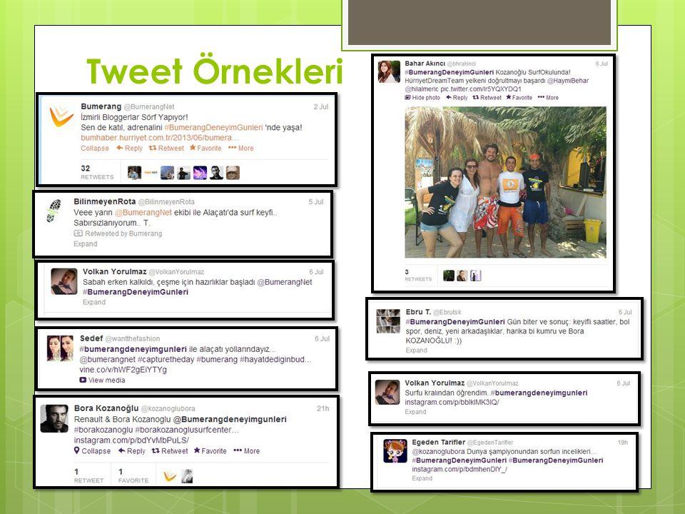 Tweet Örnekleri
