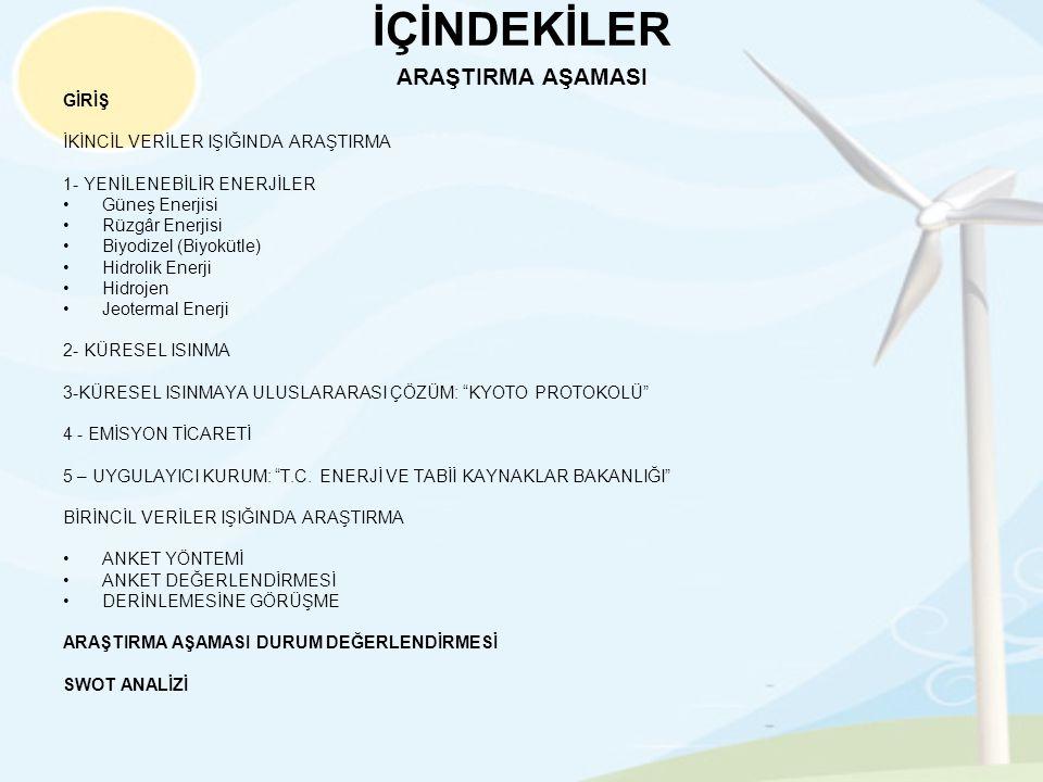 EK 13: ENERJİNİ YENİLE KISA FİLM GÖSTERİMİ SENARYOSU •Kısa film için hazırlanan senaryoda sırasıyla aşağıdaki metinler ve metinlerin yer alacağı görüntüler sıralanmıştır.