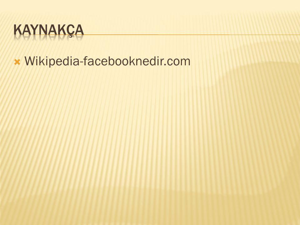 Wikipedia-facebooknedir.com