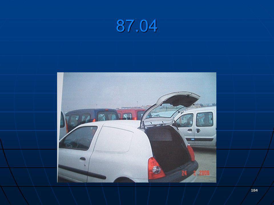 Renault Clio (Yolcu ve yük bölmeleri arasında bariyer bulunan, arka yan panelleri kapalı, esas olarak eşya taşımaya mahsus kapalı kasa motorlu taşıt)