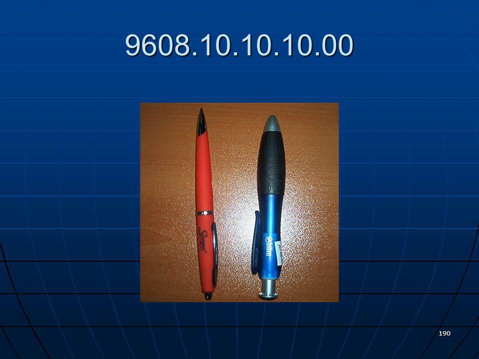 Plastik maddeden mamul bilyalı sıvı mürekkepli tükenmez kalem 189