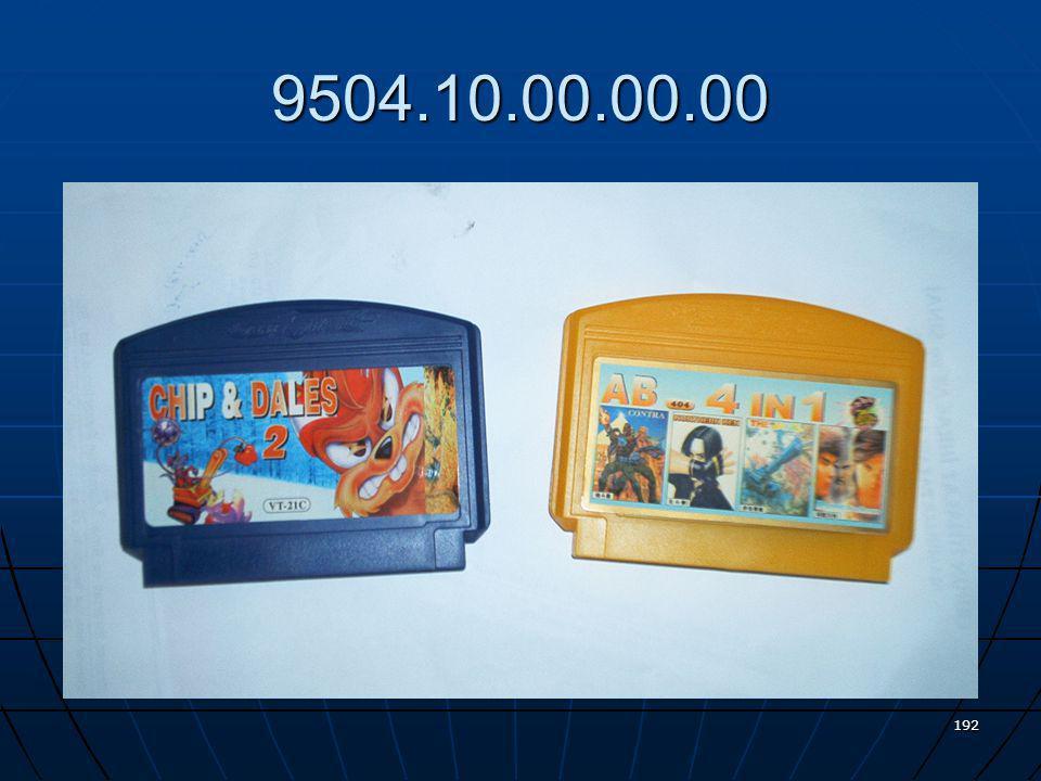 Bir televizyon alıcısı ile birlikte kullanılabilir türden video oyun kaseti (kartuş) 191