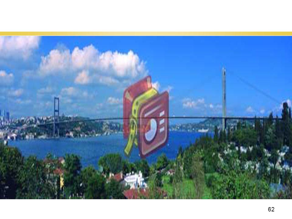 62 İstanbul Boğazı