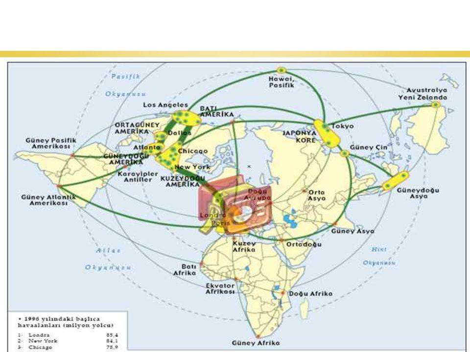 87 Dünyadaki Hava Yolu Trafiğinin Yoğun Olduğu Güzergahlar