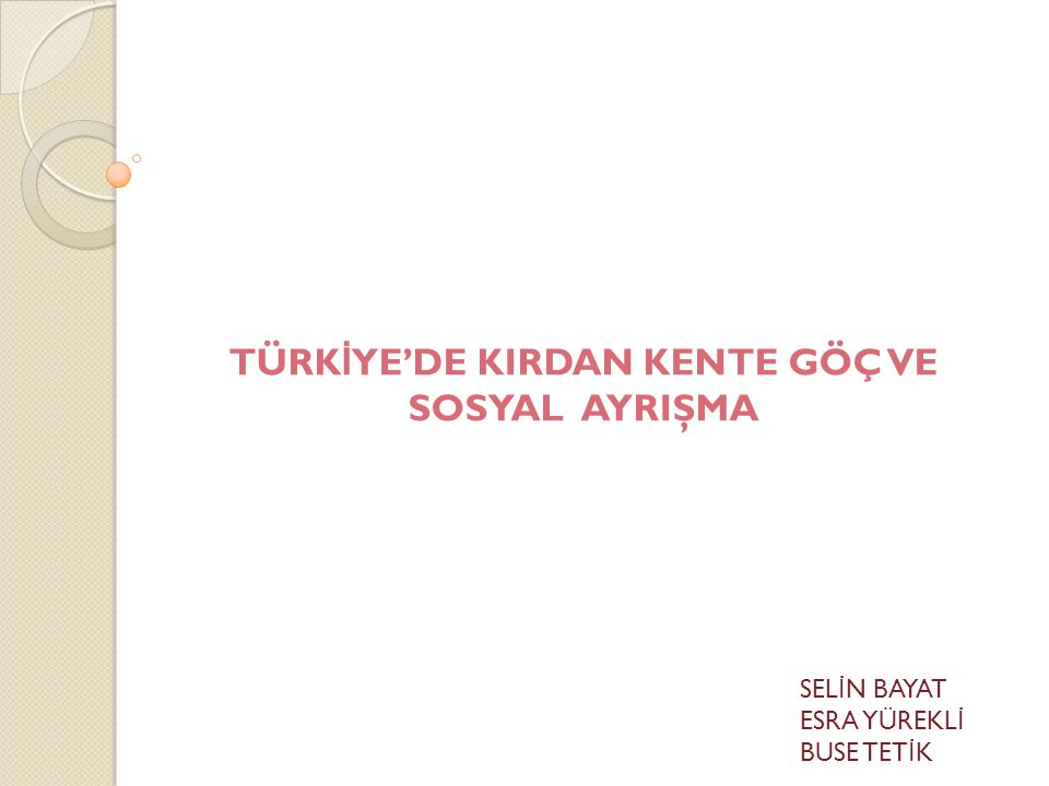 KAYNAKLAR:  http://www.cografya.gen.tr/egitim/beseri/turkiye-de-gocler.htm  http://www.forumdas.net/ders-notlari/turkiyedeki-goclerin-sebep-ve-sonuclari-60596/  TERZ İ,Elvan, Yrd.