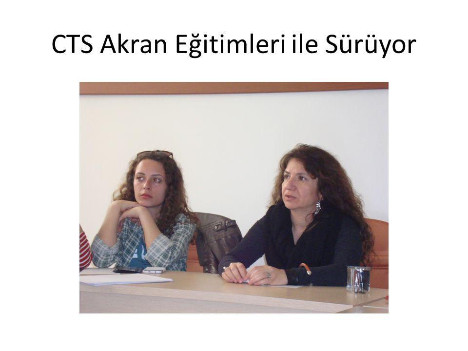 CTS Akran Eğitimleri ile Sürüyor