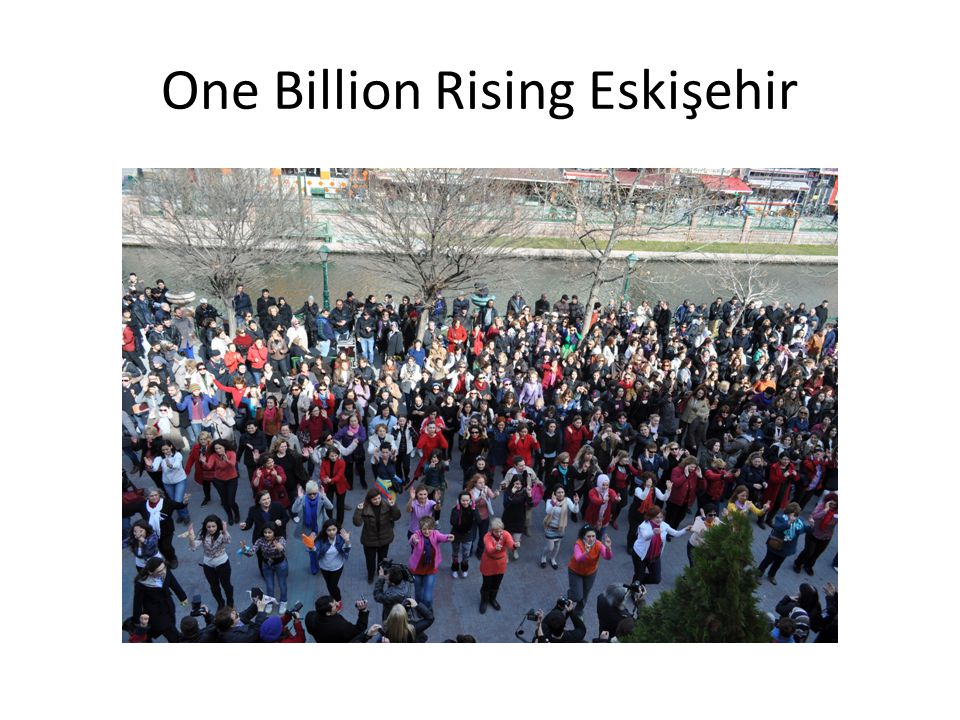 One Billion Rising Eskişehir