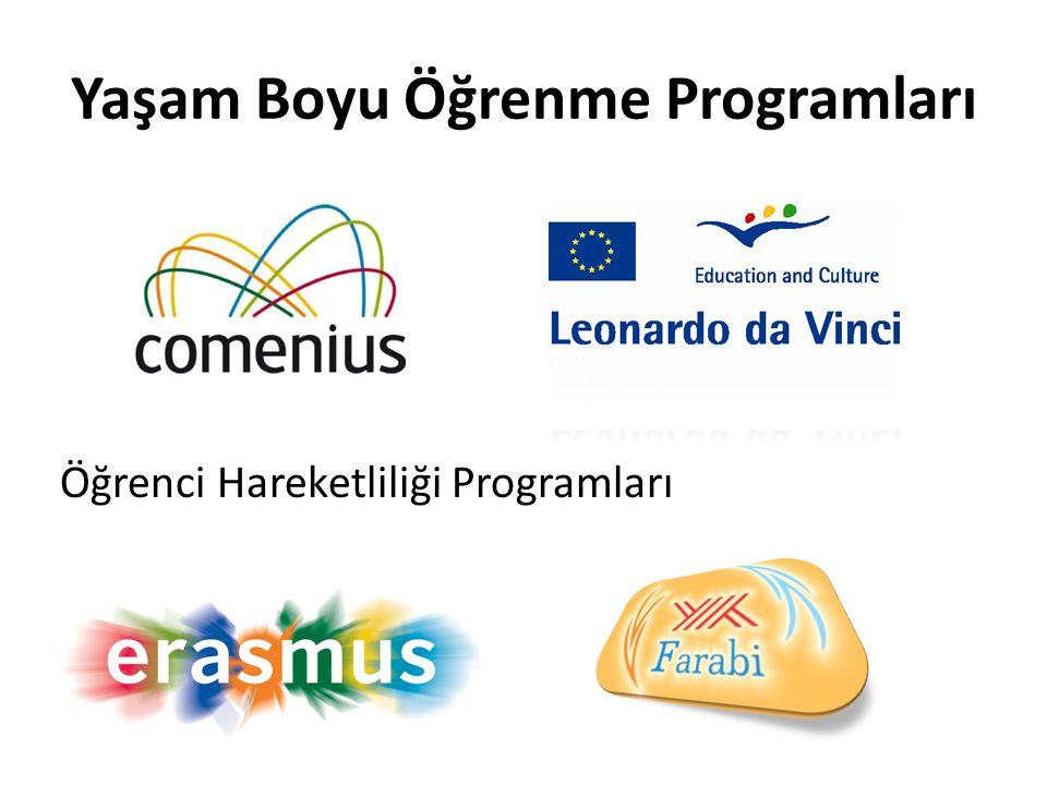 Yaşam Boyu Öğrenme Programları Öğrenci Hareketliliği Programları