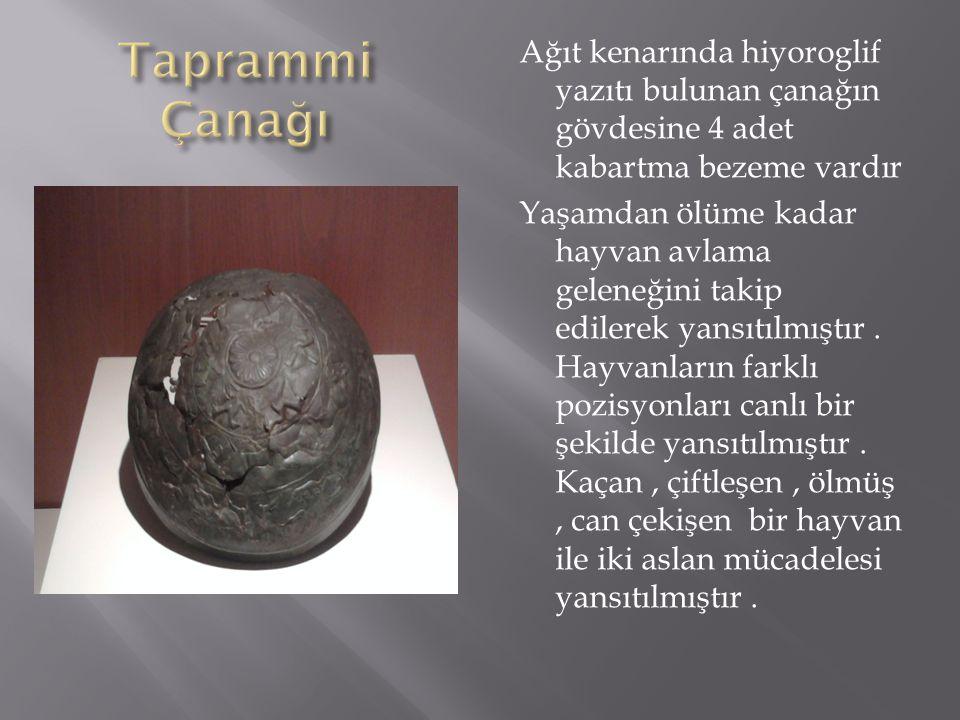  1990 yılında bir grup hitit madeni kabı, Delibeyoğlu,Sırtı ören yerinden Kastamonu Arkeoloji müzesine getirilmiştir. Çeşitli formlardaki madeni kapl