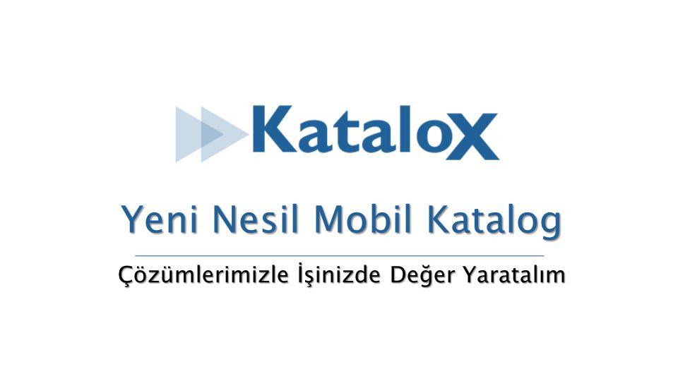 KataloX ile Online Kataloglar Ürün kataloglarınızı dijital dünyaya taşıyan ve hedef kitlenize mobil ortamda tanıtım içeriklerinizi sunabileceğiniz bir platformdur.