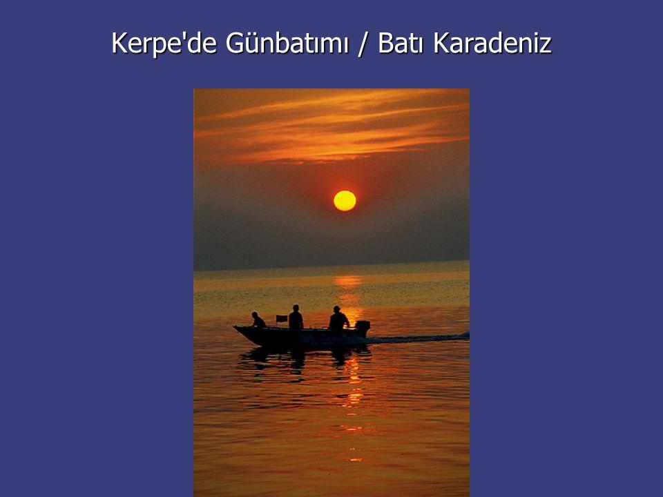 Kerpe'de Günbatımı / Batı Karadeniz