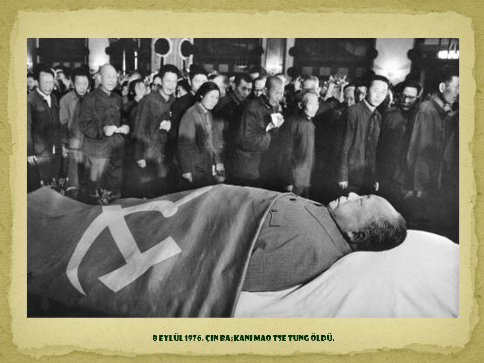 11 Eylül 1973. Ş ili'nin Santiago ş ehri. Cumhurba ş kanı Salvador Allende; Augusto Pinochet ve CIA tarafından hazırlanan darbe sırasında öldürülmesin