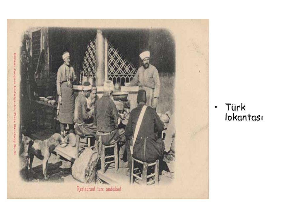 •Türk lokantası