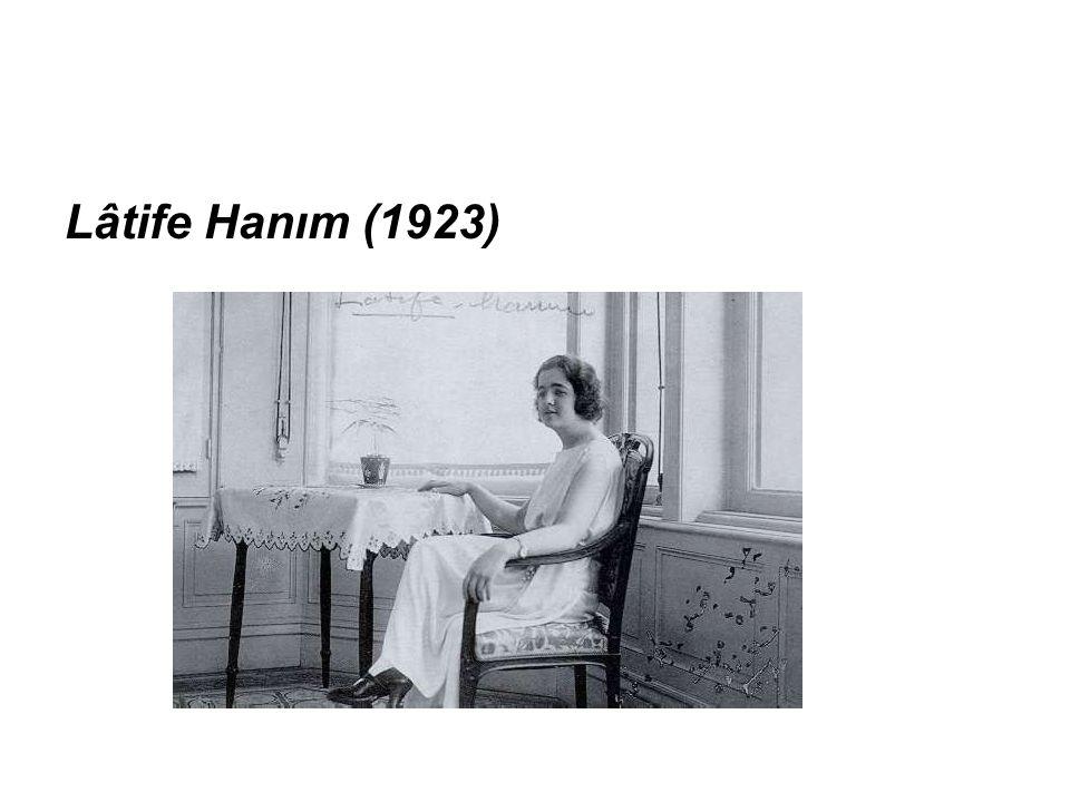 Lâtife Hanım (1923)