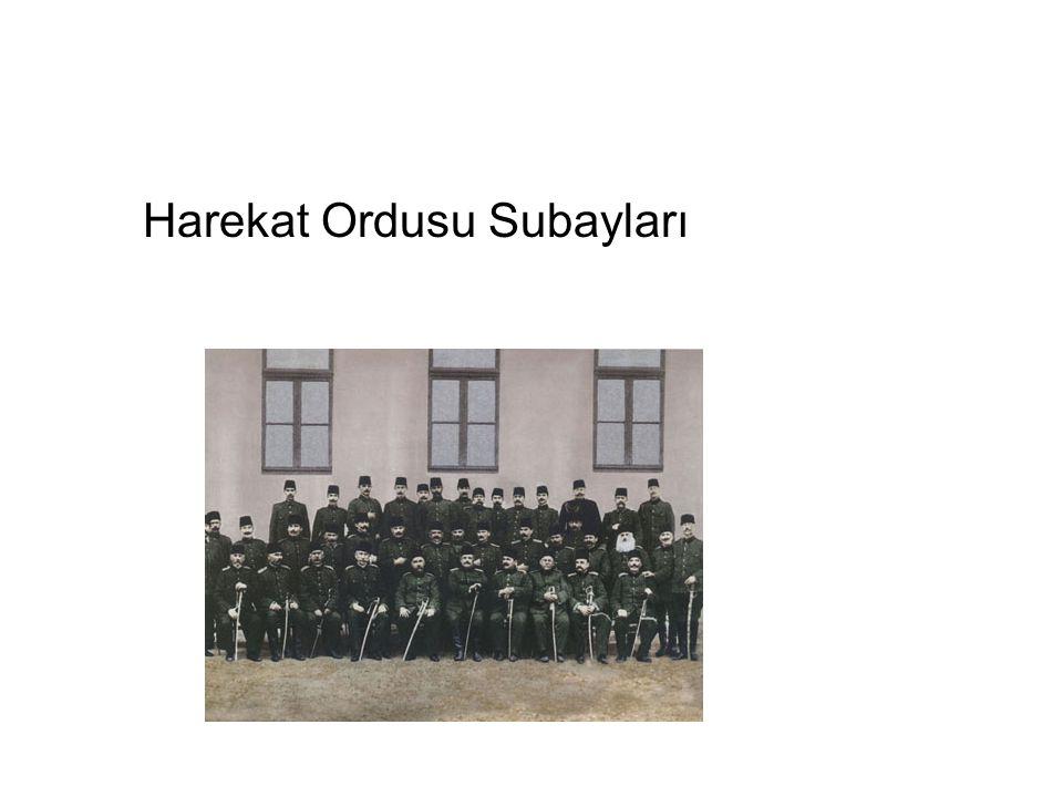 Harekat Ordusu Subayları