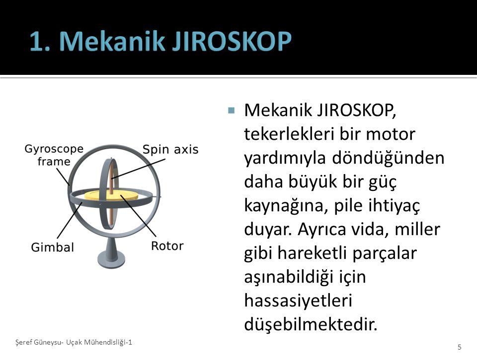 1.Mekanik 2.Piezoelektrik 3.Lazer 4.Quantum Şeref Güneysu- Uçak Mühendisliği-1 4