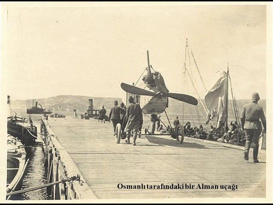 Düşürülmüş bir müttefik uçağı