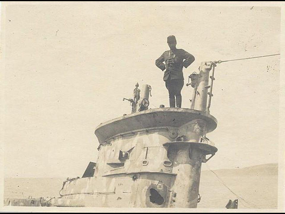 Osmanlı donanmasına ait denizaltı