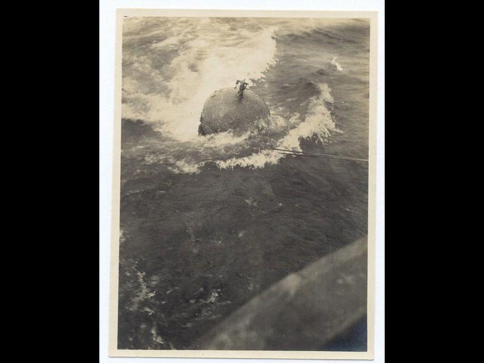 Mayınların denize döşenmesi