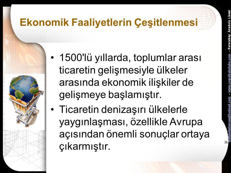mehmetaliercan@hotmail.commehmetaliercan@hotmail.com – www.cografyakulubu.com – Karacabey Anadolu Lisesiwww.cografyakulubu.com 35 İpek Yolu