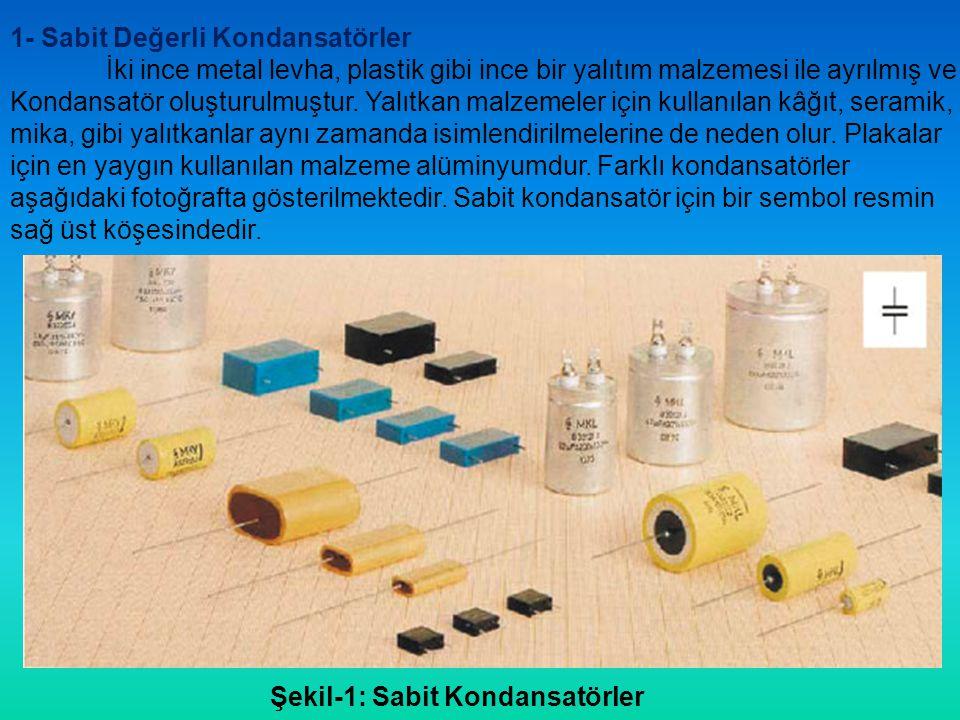Kondansatörlerin kodlanması Yaygın olarak kondansatörler, kapasitesini belirten bir dizi karakterle işaretlenir.