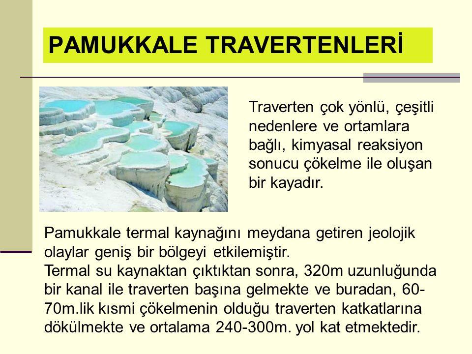 Doğal anıtlar: yer kabuğunun oluşum sürecinde ortaya çıkan peri bacaları, traverten, mağara, şelale, göl biçimindeki yeryüzü şekilleri ve özel korumay
