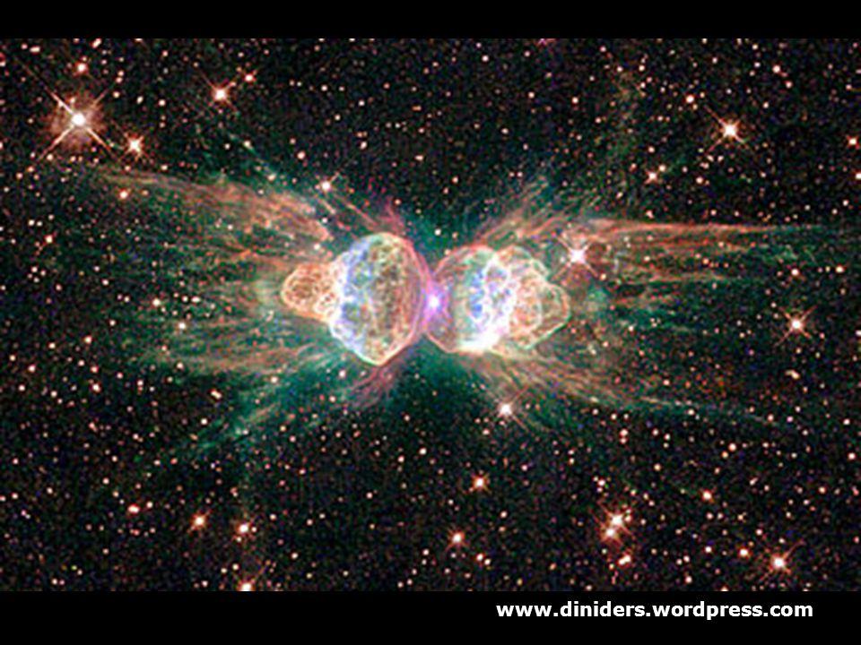 Hubble'ın çektiği ve ikinci en güzel resim seçilen karede dünyadan 3000-6000 ışık yılı uzakta bulunan 'Ant Nebula' resmediliyor. www.diniders.wordpres