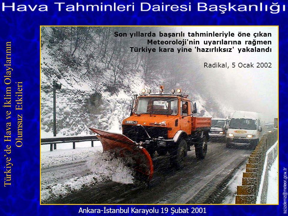 Aşırı Yağış Nedeniyle Bostanlı Deresi Taştı/İZMİR 17 Aralık 2001 Türkiye'de Hava ve İklim Olaylarının Olumsuz Etkileri Meteoroloji dün akşam yine uyar
