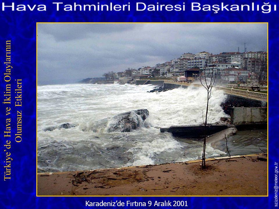 Misket Büyüklüğünde Dolu/İzmir 1Ağustos 2001 Türkiye'de Hava ve İklim Olaylarının Olumsuz Etkileri