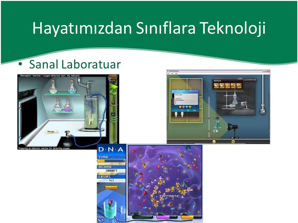 • Sanal Laboratuar Hayatımızdan Sınıflara Teknoloji