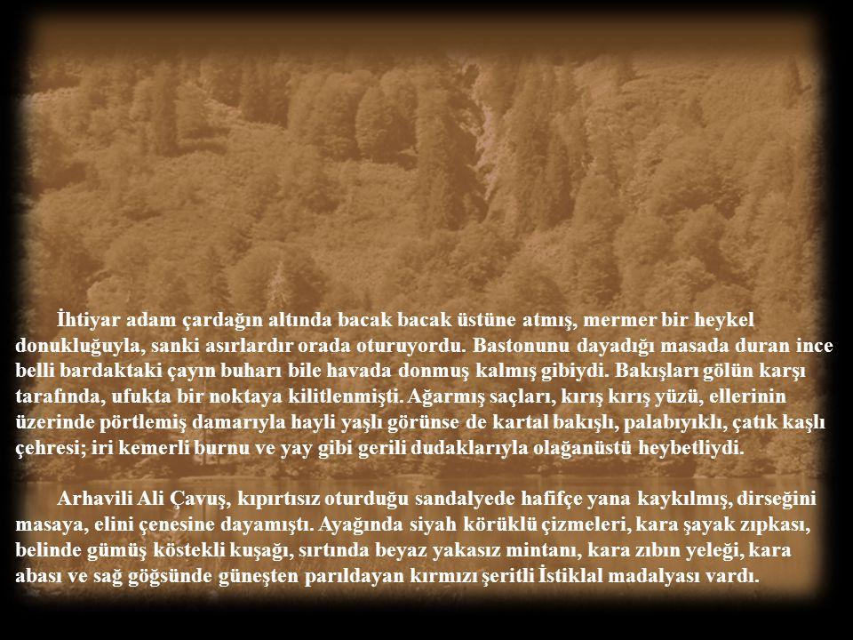 1969, Borçka Karagöl… Derin yeşil bir sessizliğe gömülmüş Karagöl'de zaman sanki durmuştu. Etrafta yaprak kımıldamıyor, çıt çıkmıyordu. Gölün çevresin