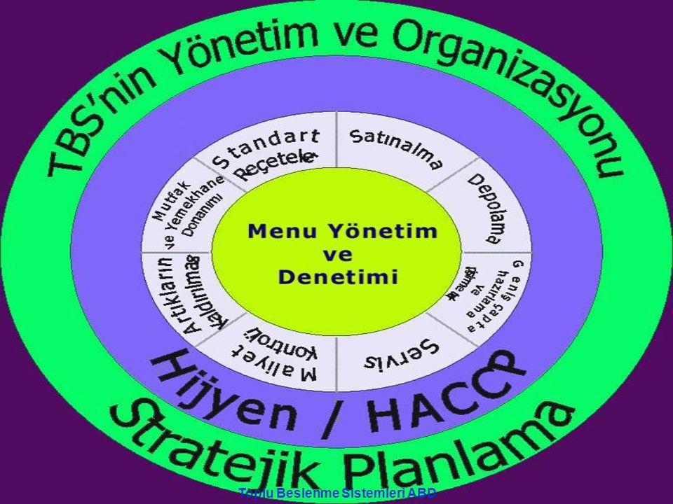 Toplu Beslenme Sistemleri ABD 1. Proje sunuldu (2005)