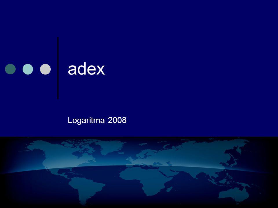 logaritma 2008 adex network adex fiyatlandırma •CPM •CPC •CPA •dCPM BİRİM FİYATI HER ZAMAN REKLAMVEREN BELİRLER.