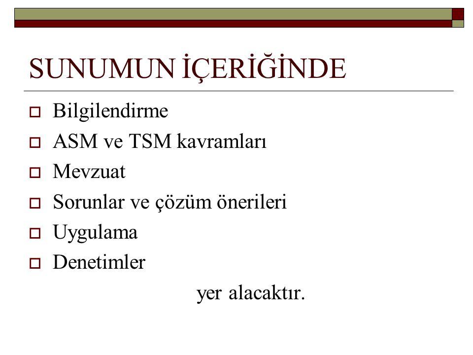 19 MART 2009 ÇEŞME/İZMİR KARARLARI 5.