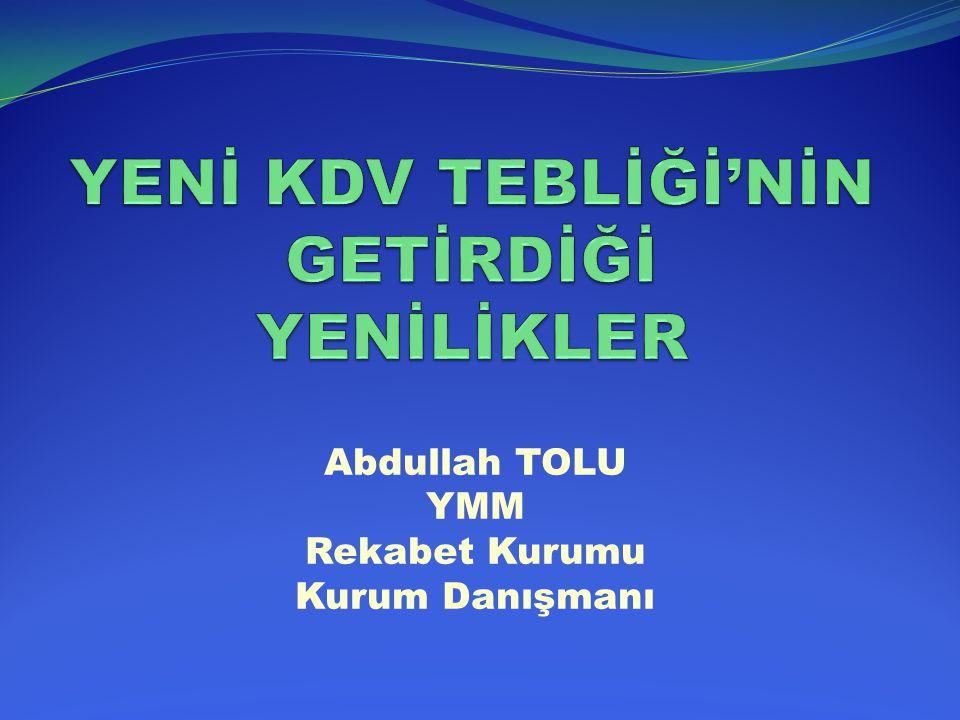 İSTİSNALAR/ YABANCI TAŞIMACILAR İLE FUAR-SERGİ- PANAYIR KATILIMCILARA İLİŞKİN İSTİSNA Yeni Tebliğde ise; söz konusu işlemler nedeniyle ödenen KDV'nin karşılıklı olmak kaydıyla iadesinde, taşımacılık ile ilgili olarak İstanbul Vergi Dairesi Başkanlığı Boğaziçi Kurumlar Vergi Dairesi Müdürlüğü veya Marmara Kurumlar Vergi Dairesi Müdürlüğü görevlendirilmiş; fuar, panayır ve sergiye katılımlarında ise bir değişiklik yapılmamış, bu faaliyetin yapıldığı yerdeki vergi dairesi başkanlığı veya defterdarlığın belirleyeceği vergi dairesi tarafından yerine getirilmesi öngörülmüştür.