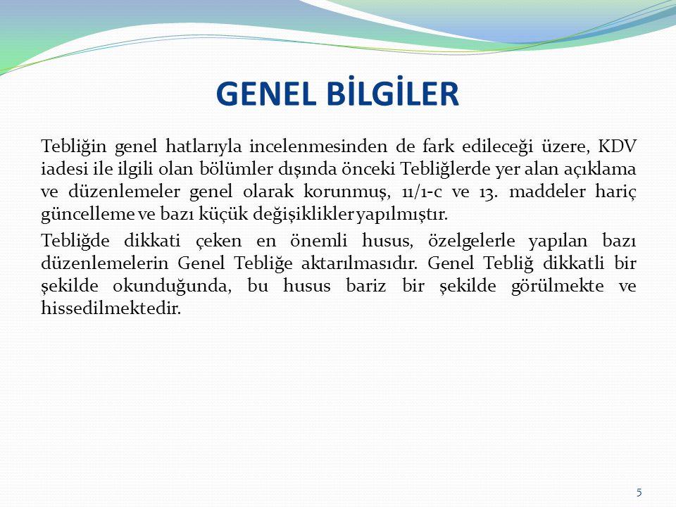 İSTİSNALAR/ TAŞIMACILIK İSTİSNASI KDV Kanununun 14.