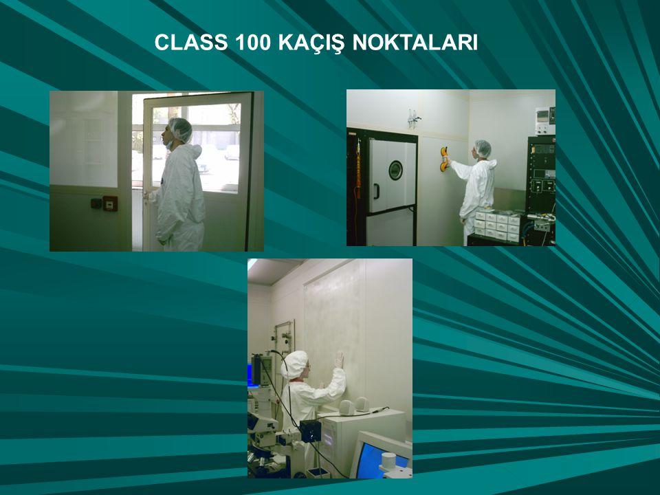 CLASS 100 KAÇIŞ NOKTALARI