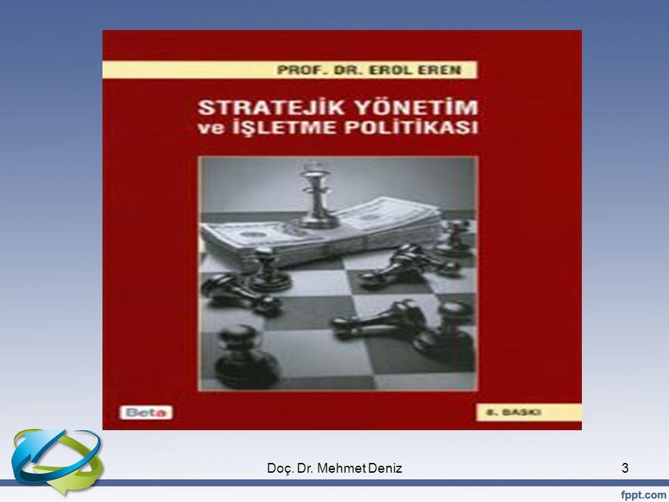 Stratejik Düşünme ve Stratejik Planlama ve Stratejik Yönetim Karşılaştırması •Stratejik düşünme, bir analiz; stratejik planlama ise bir sentezdir.