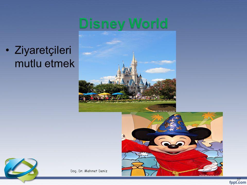 •Ziyaretçileri mutlu etmek Doç. Dr. Mehmet Deniz 37