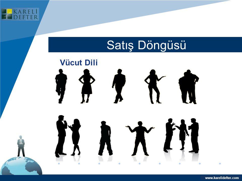 www.company.com Satış Döngüsü Company LOGO www.karelidefter.com Vücut Dili
