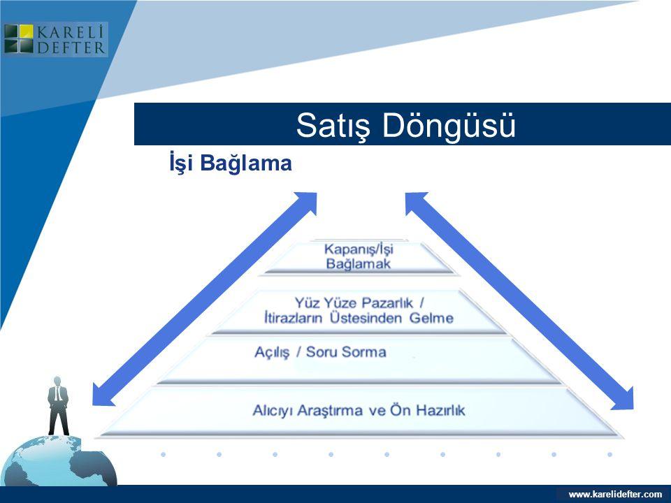 www.company.com Satış Döngüsü Company LOGO www.karelidefter.com İşi Bağlama