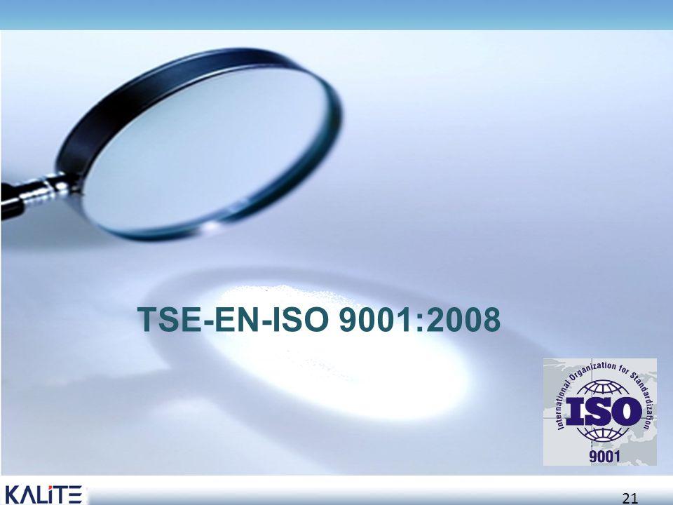 22  ISO 9001 standardı, her 5 yılda bir ISO tarafından gözden geçirilmekte ve uygulayıcıların görüşleri ve ihtiyaçlar doğrultusunda gerekli revizyonlar yapılarak yeniden yayınlanmaktadır  2008 rakamı, bu revizyonun 2008 yılında yapılıp, yayınlandığını gösterir versiyon tarihidir (ISO 9001:2008 versiyonu)  Standart ilk olarak 1987 yılında Kalite Güvence Sistem Standardı olarak yayınlanmıştır
