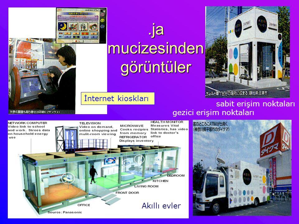 .ja mucizesinden görüntüler gezici erişim noktaları sabit erişim noktaları İnternet kioskları Akıllı evler