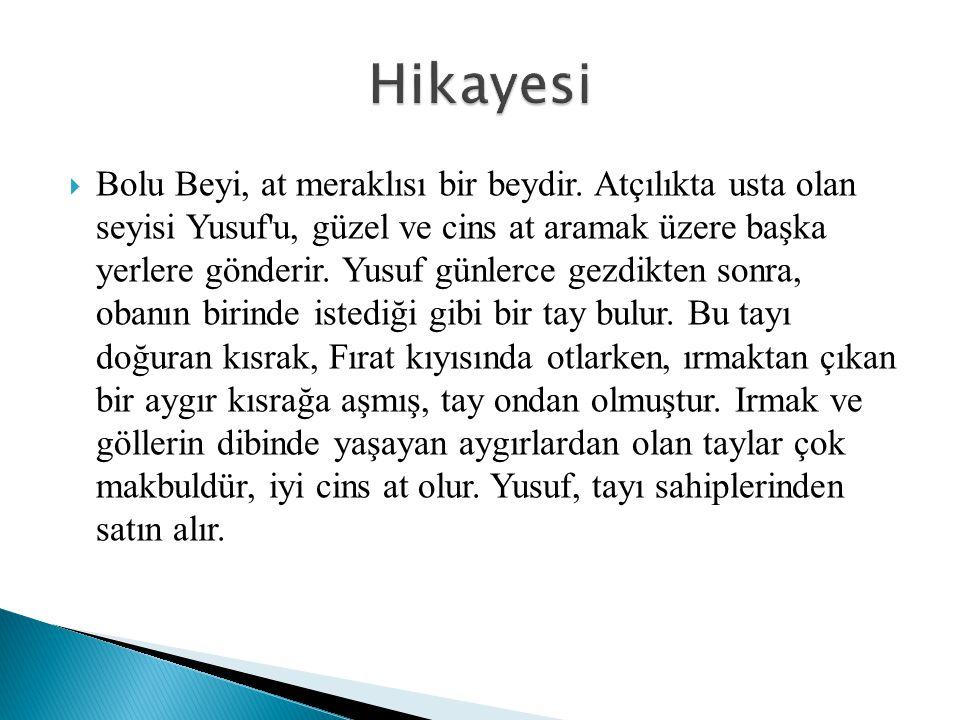  Kaçmasın diye hasmını evine kadar takip eden Kiziroğlu, Köroğlu'nun karısına söylediklerinin hepsini duymuş, duygulanmış ve sonra kendinden utanmış.