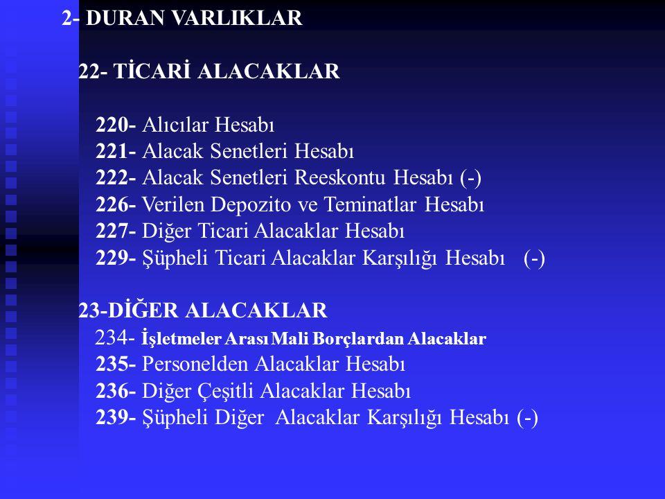 18- GELECEK AYLARA AİT GİDERLER VE GELİR TAHAKKUKLARI 180- Gelecek Aylara Ait Giderler Hesabı 181- Gelir Tahakkukları Hesabı 182-Sağlık Kurumları Aras