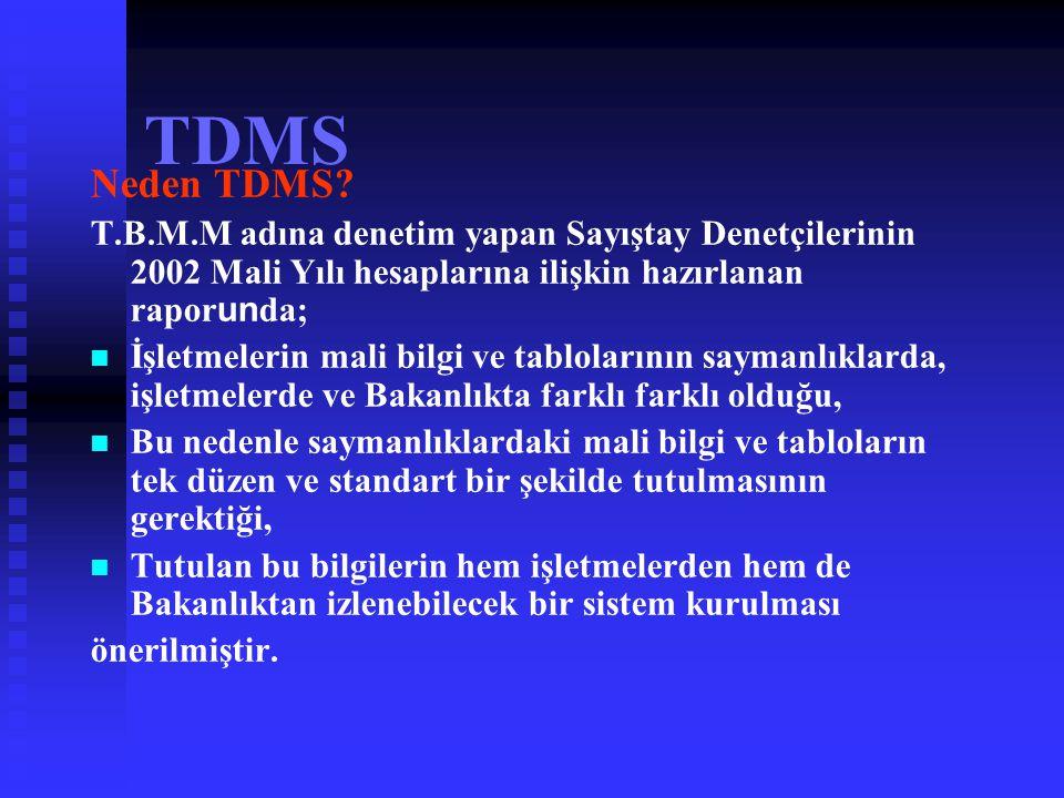 TDMS TEK DÜZEN MUHASEBE SİSTEMİ