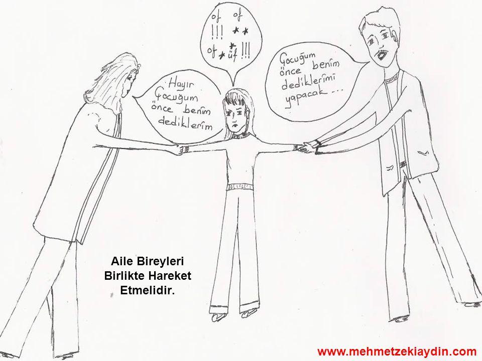 Aile Bireyleri Birlikte Hareket Etmelidir. www.mehmetzekiaydin.com
